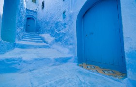 POW: The Blue Alley of Chefchaouen