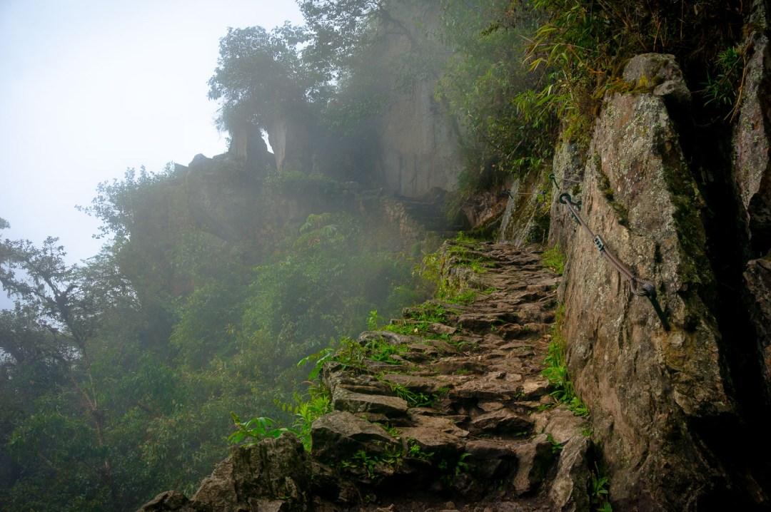 Misty Steps at Machu Picchu