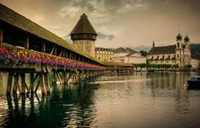 POW: The Chapel Bridge in Lucerne Switzerland