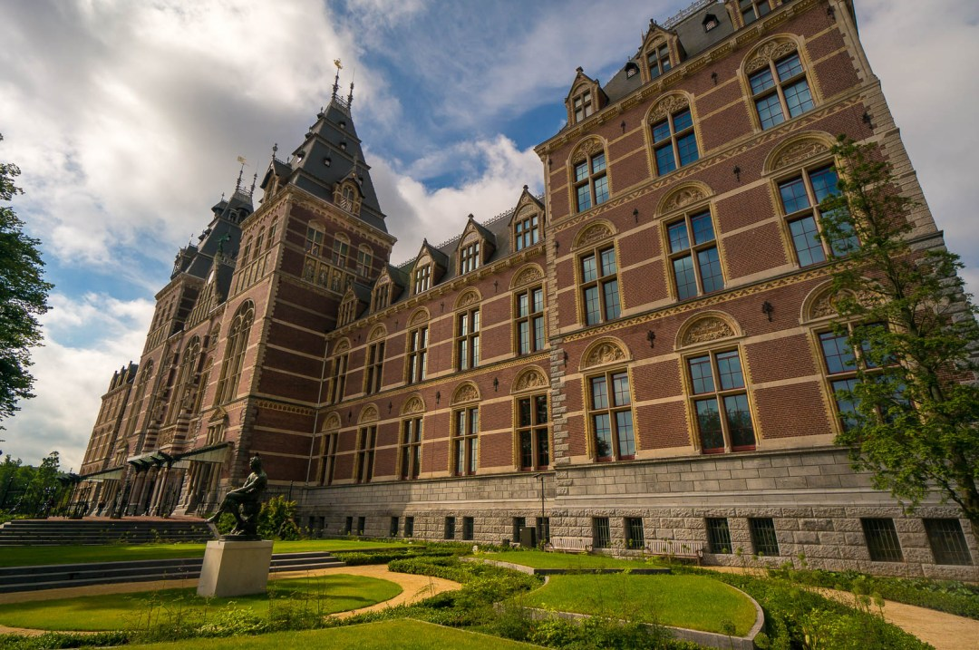 Rijksmuseum Amsterdam in Holland