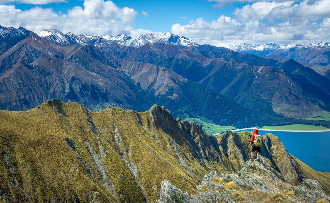 POW: Climbing Isthmus Peak in New Zealand