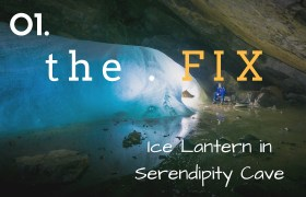 The FIX 01: Ice Lantern in Serendipity Cave