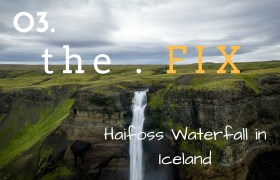 The FIX 03: Haifoss Waterfall in Iceland