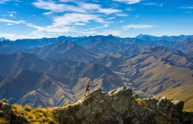 New Zealand: Climbing Ben Lomond in Queenstown