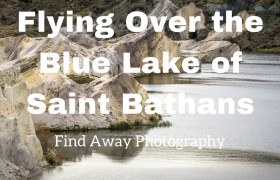 Video: Flying Over the Blue Lake of Saint Bathans