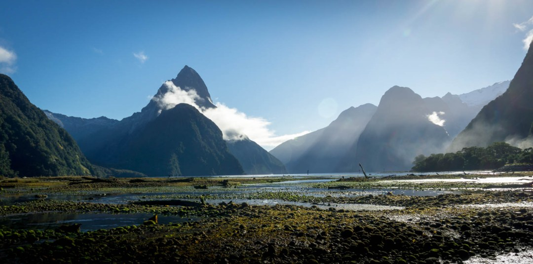 Iconic view of Milford Sound