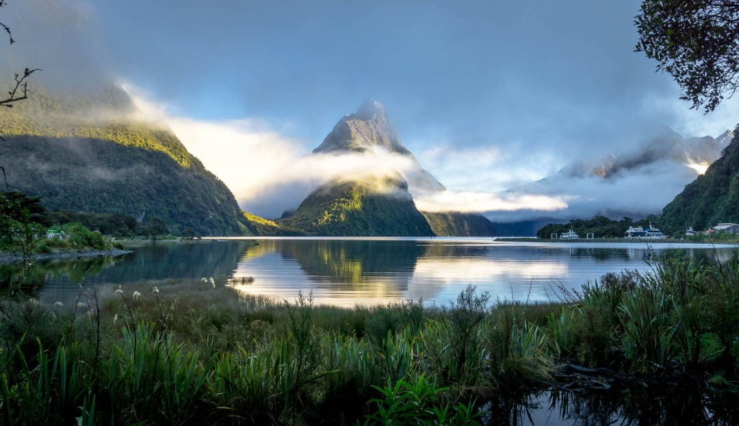 Mitre Peak of Milford Sound
