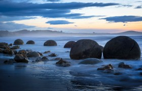 New Zealand: Exploring Dunedin and the Moeraki Boulders