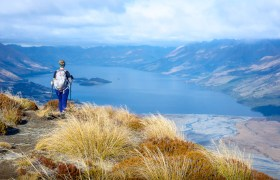 New Zealand: Climbing Mount Alfred in Glenorchy