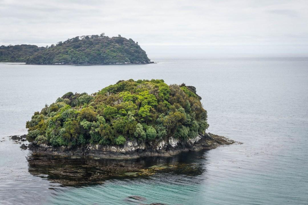 Coastline of Stewart Island