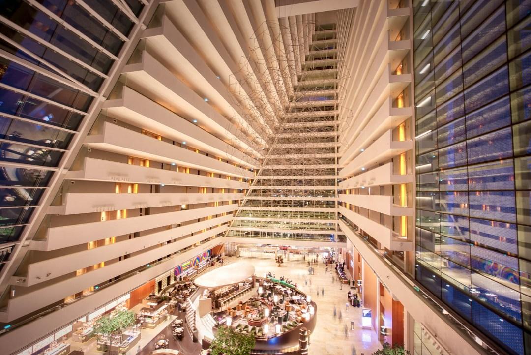 Inside Lobby of Bay Sands Hotel