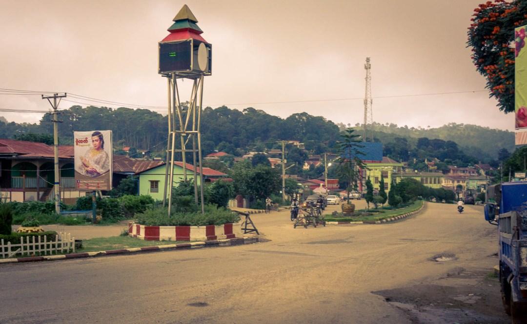 kalaw mountain town in Myanmar