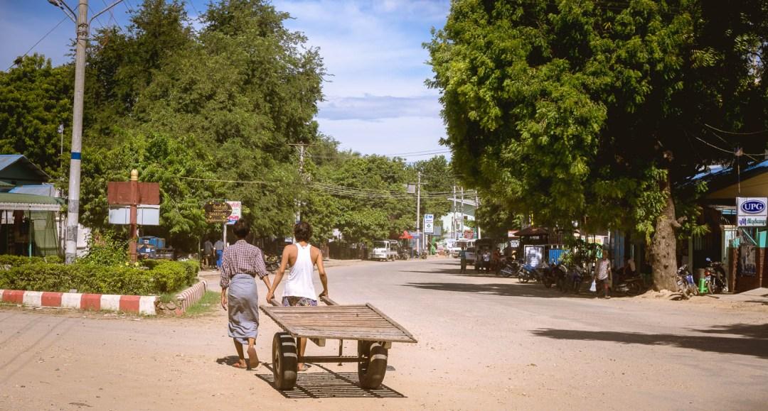Nyaung Shwe town