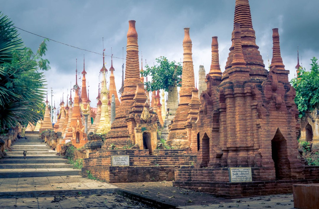 Stupas of Indein