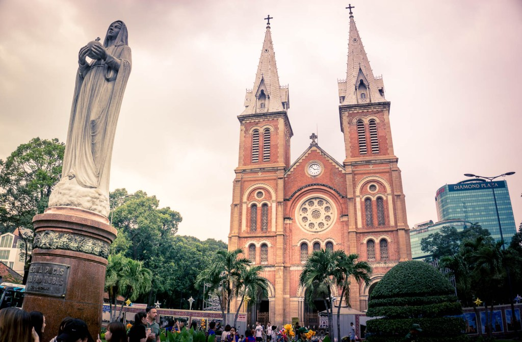 Cathedral of Notre Dame in Ho Chi Minh