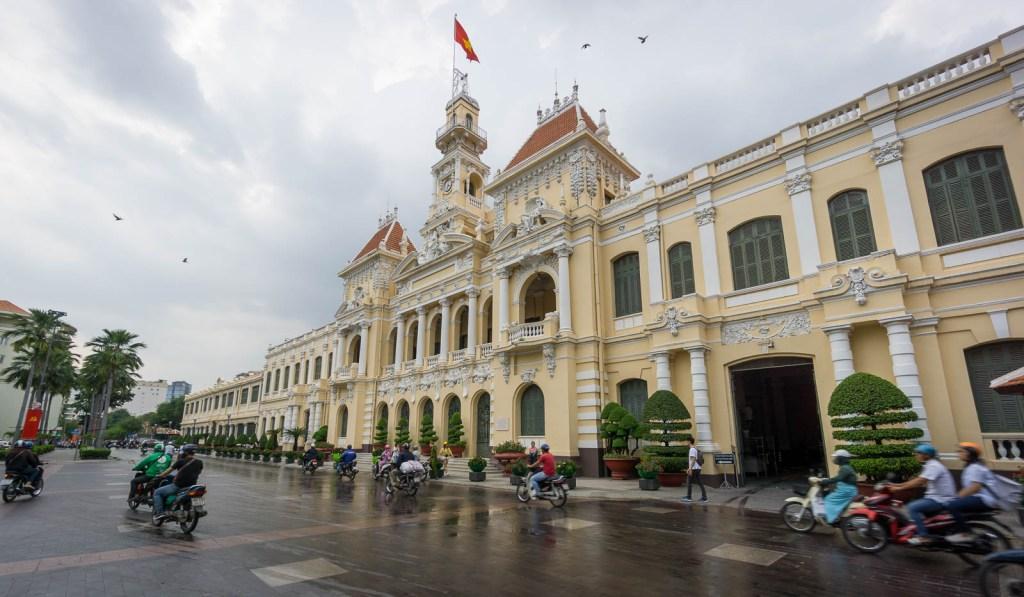 City hall in Ho Chi Minh