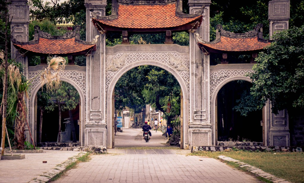 Gateway to ancient city in Ninh Binh