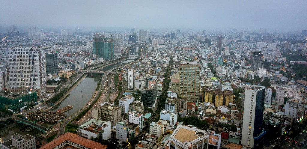 View of Ho Chi MInh from tower
