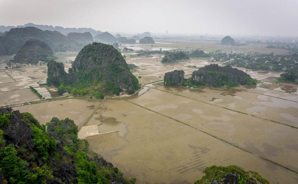 View over Ninh Binh