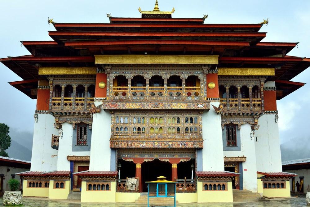 Gangteng Monastery Main Building