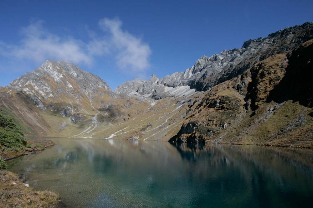 High Altitude lake in Bhutan