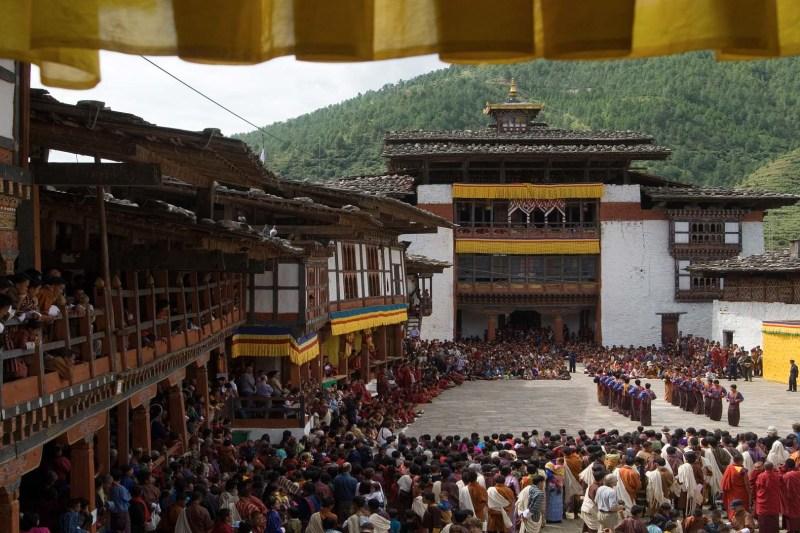 Wangdue Tshechu Bhutan Travel