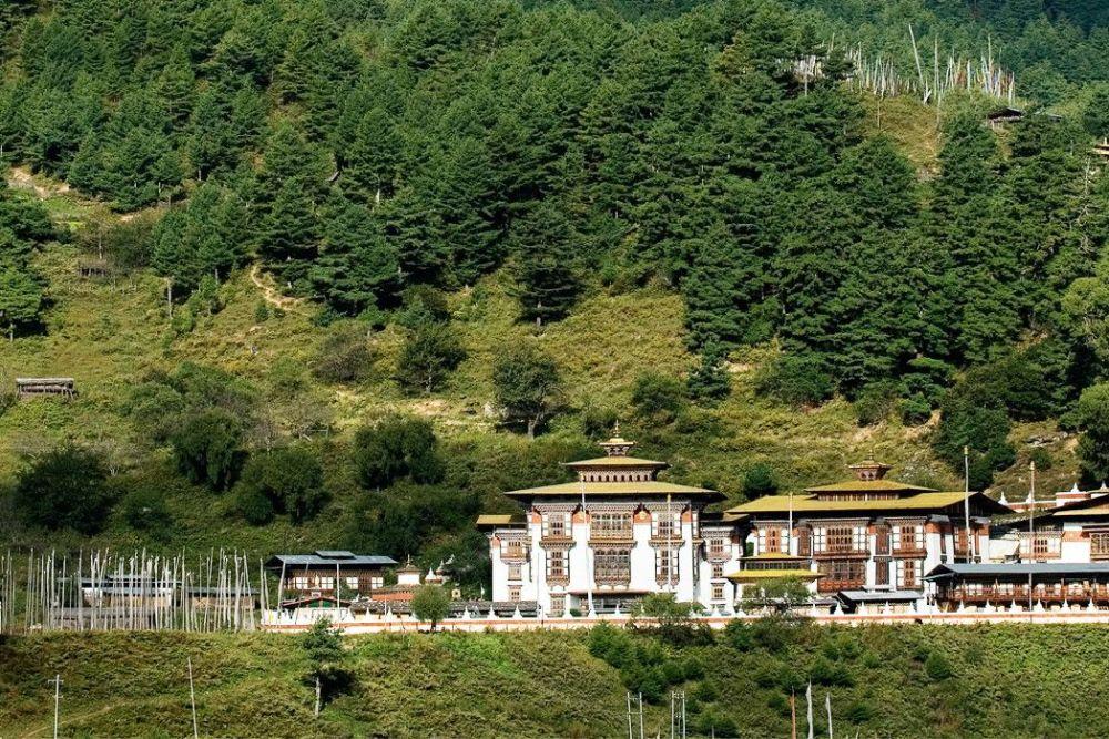 kurjey Lhakhang View