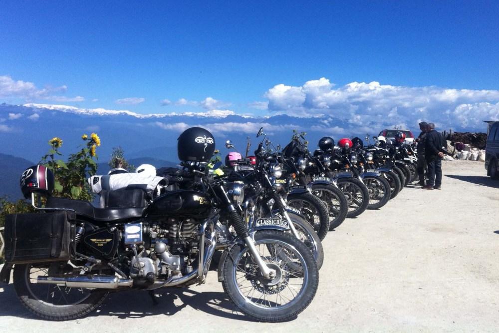 Motorbike adventure in Bhutan