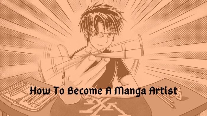 How to become a manga artist