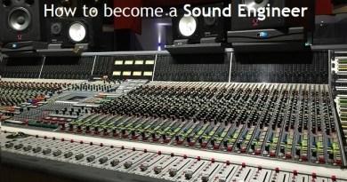 Career in Sound Engineering