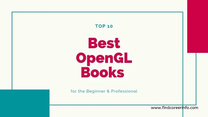 Best OpenGL Books for Beginner Professional