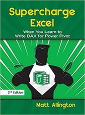 Best books to learn to Write DAX for Power Pivot