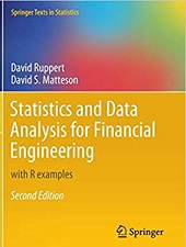 Books to learn Statistics and Data Analysis for Financial Engineering