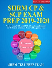 best SHRM CP SCP Exam Prep books