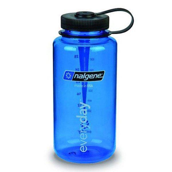 Nalgene Wide Mouth Bottle Tritan 1000ml, BLUE