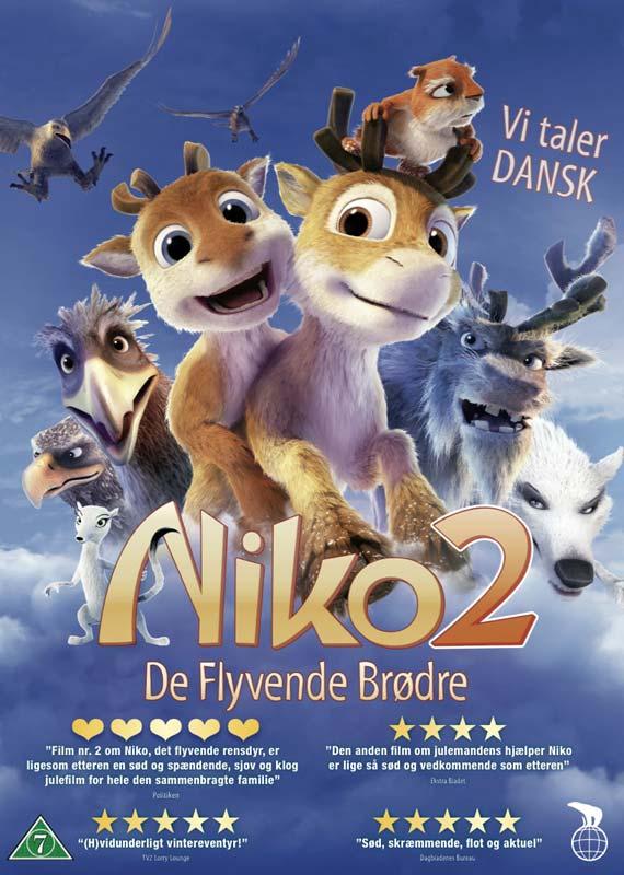 Niko 2: De flyvende brødre - DVD