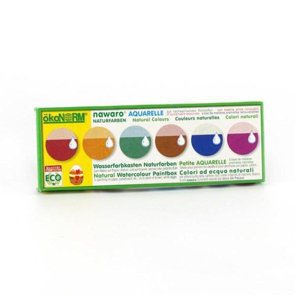 ÖkoNORM Vandfarver - pakke med 6 farver