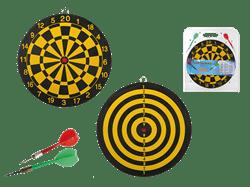 Lille dartspil med 2 pile