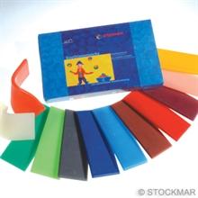 Stockmar Modellerbivoks - 12 farver