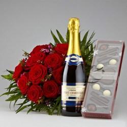 Blomster og bobler på Valentinsdag (1)