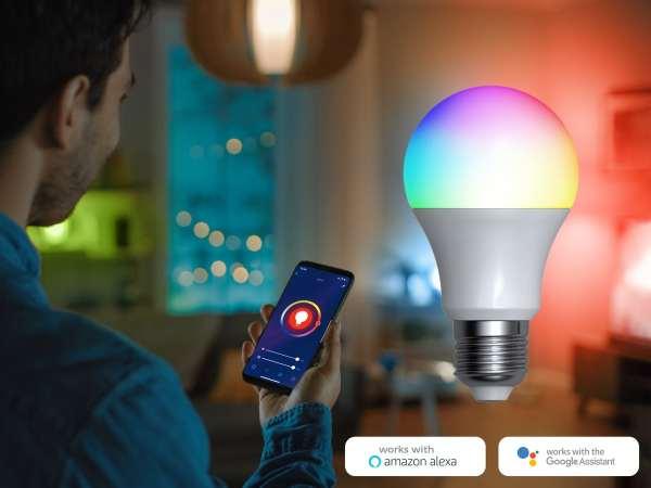 Denver Smart RGB LED-pære Wi-Fi (3-pak)