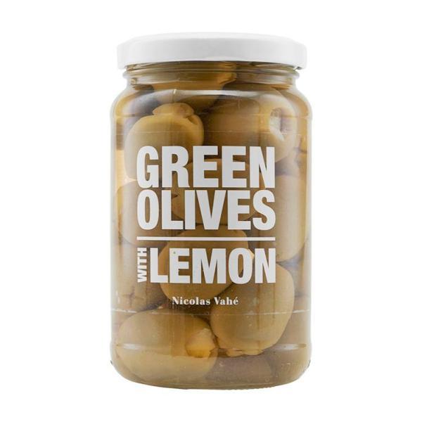 Grønne Oliven med Citron - Nicolas Vahé