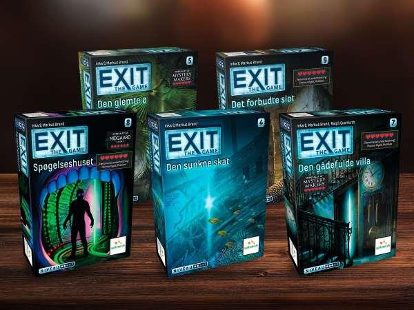 EXIT 4: Den sunkne skat