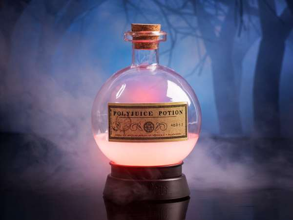 Harry Potter Polyjuice Potion Farveskiftende Lampe