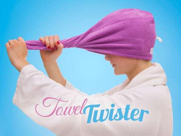 Towel Twister Blå