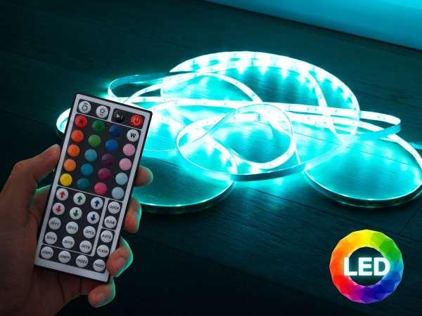 Vooni LED-lyskæde med Fjernbetjening