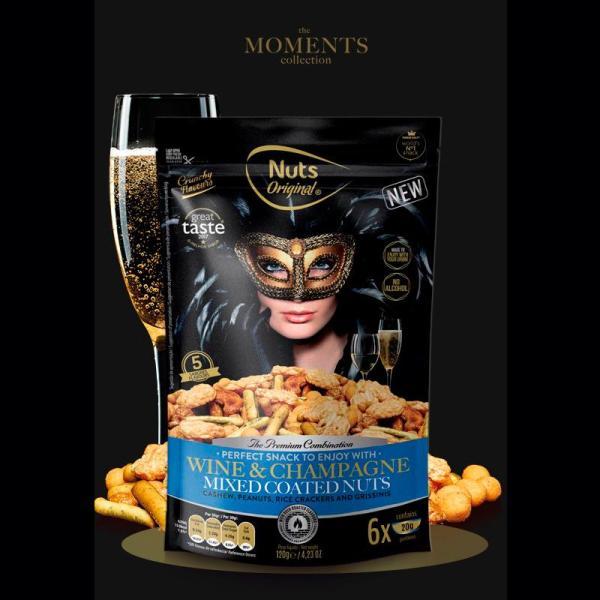 Luksus Nøddemix - Wine & Champagne