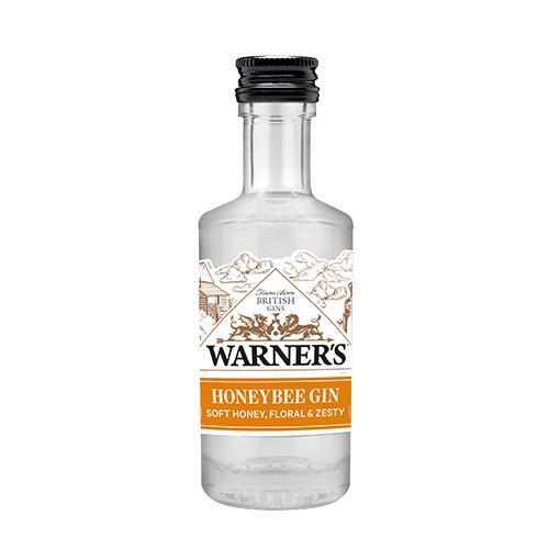 Warner's HoneyBee Gin, 5 cl
