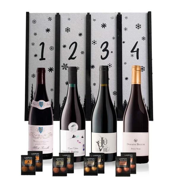 Adventskalender med Rødvin - Fransk