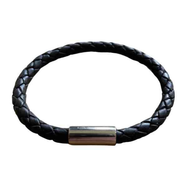 BOLO Læderarmbånd - Sort